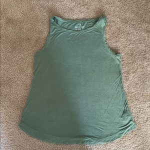 American Eagle Soft & Sexy green tank